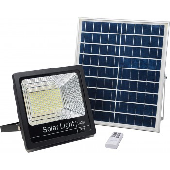 KIT FOCO LED SOLAR 100 W